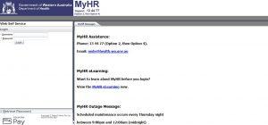 Myhr Health Wa Login